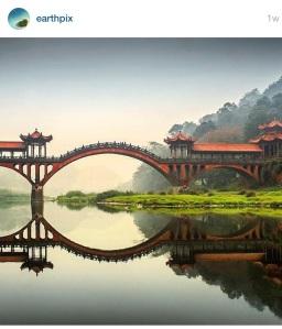Leshan Giant Buddha Bridge ~photography by Edy Petrova
